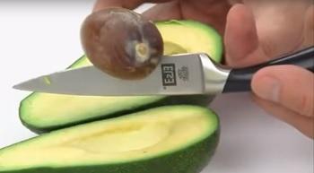 Как быстро,удобно и правильно разделать авокадо