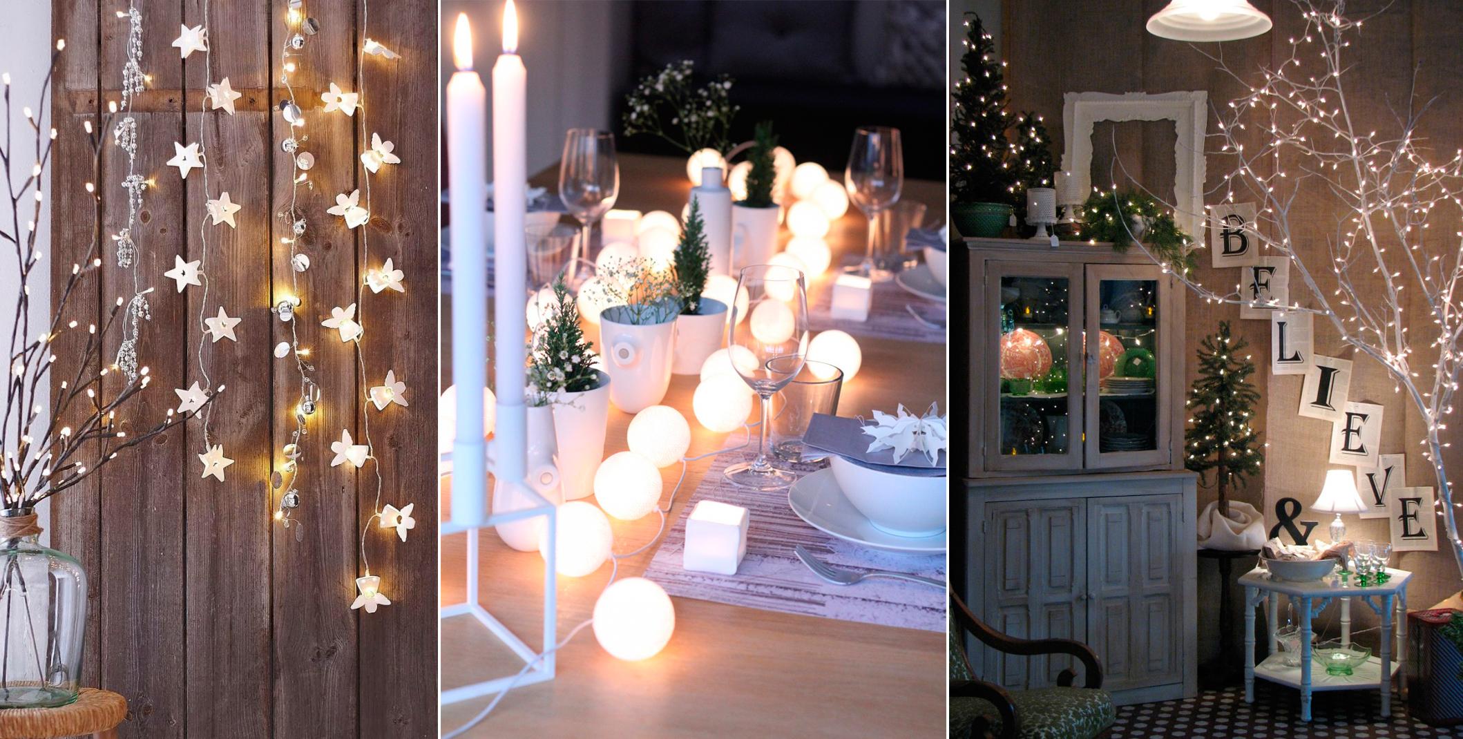 Электрические гирлянды для дома, делаем праздники яркими