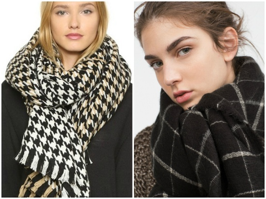 Как выглядят трендовые шарфы осенне-зимнего сезона 2015/2016