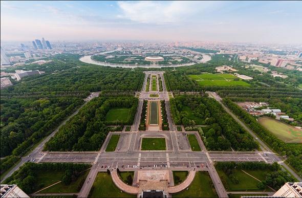 Как увидеть Москву с высоты птичьего полета. Часть 1