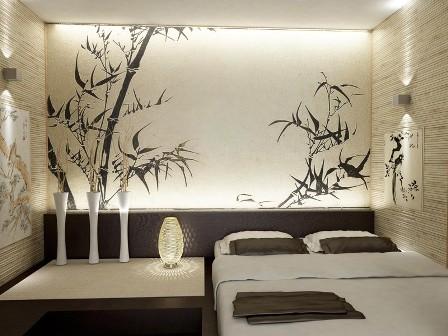 Как оформить спальню в японском стиле