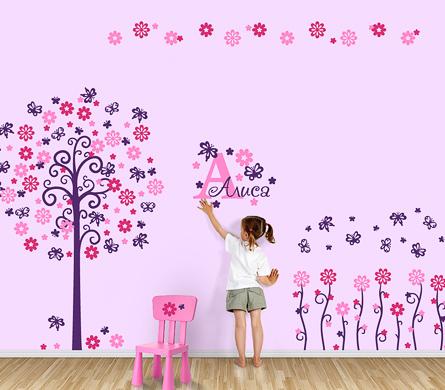 Как оригинально оформить стену