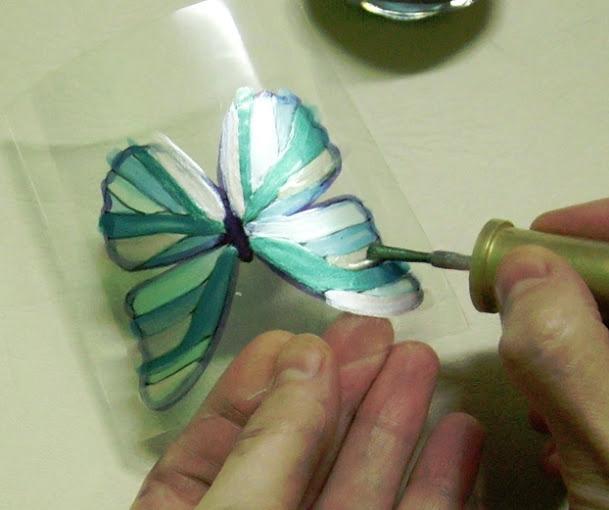 Выкройка Волховская Бабочка галстуШкатулка из пластиковой бутылки
