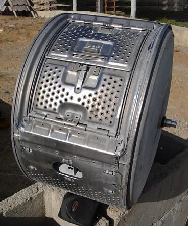 Как использовать барабан от старой стиральной машины