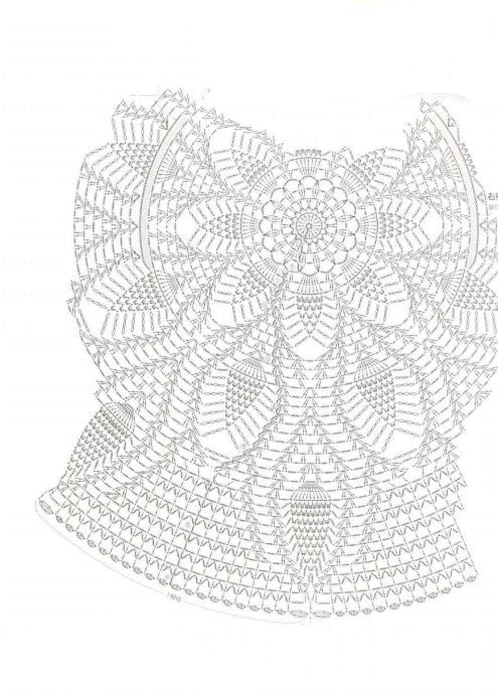 вязание крючком круглая салфетка модели и схемы