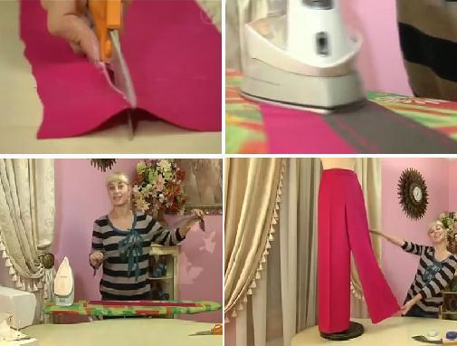 Как сшить брюки без выкройки