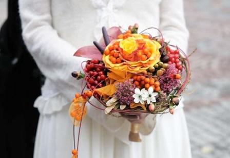 Как организовать красивую свадьбу осенью