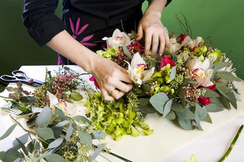 Как правильно составить букет из цветов