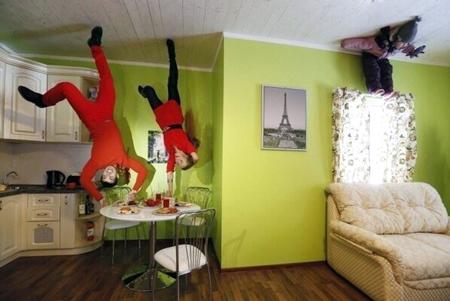 Как выглядят дома вверх ногами. Занимательная архитектура. Часть 2
