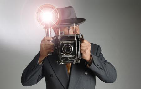 Как научиться не моргать при вспышке фотоаппарата?