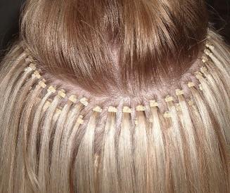 Как правильно наращивают волосы