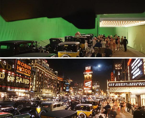 Как снимают фильмы до и после спецэффектов