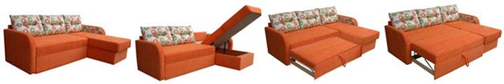 Как устроены механизмы трансформации диванов
