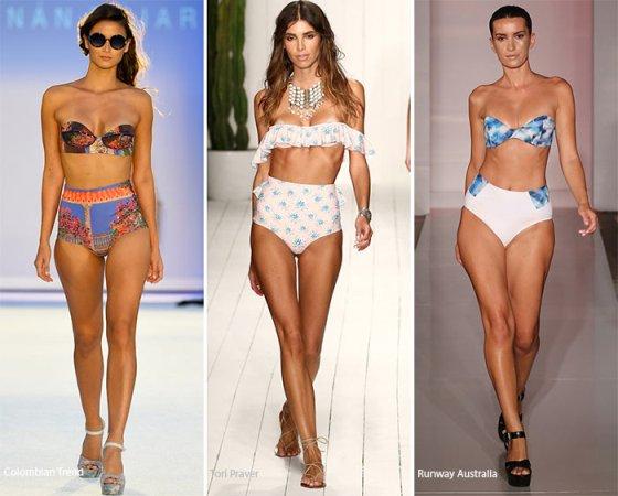 Как выбрать модный купальник: тренды 2016