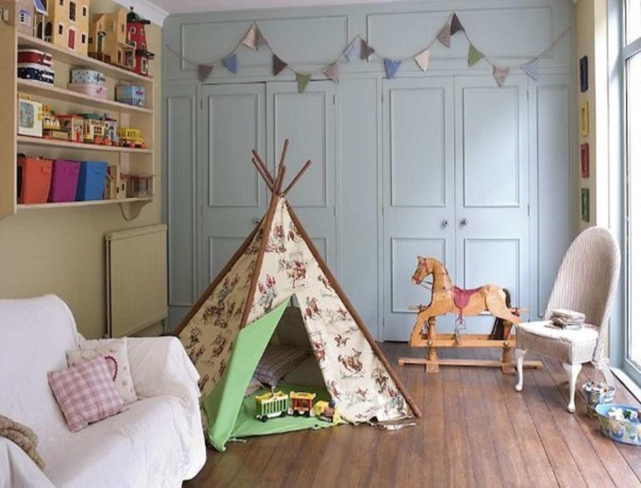 Домики в детской комнате своими руками
