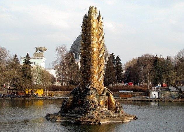 Как выглядят самые красивые фонтаны Москвы. Часть 3