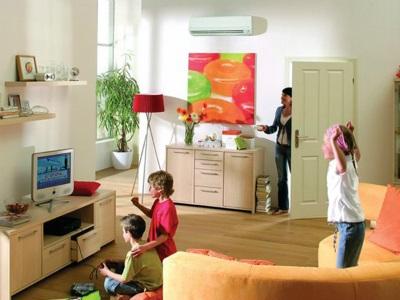 Как пользоваться кондиционером, если в доме ребёнок?