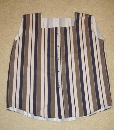 Как из одной мужской рубашки сшить оригинальный летний комплект