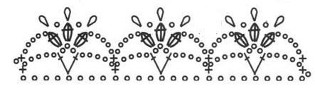 Как выполнить вязаный браслет «Цветок лотоса».