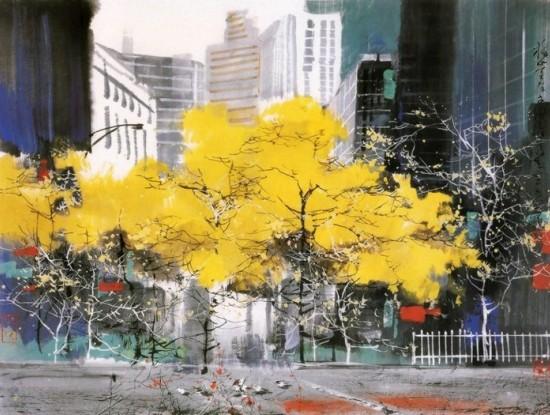 Как изображают осень современные художники