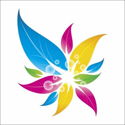 Как сделать векторный цветочный логотип в CorelDraw