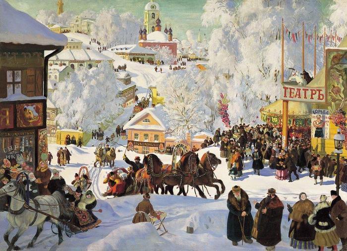 Как провести традиционную русскую Масленицу, часть 2