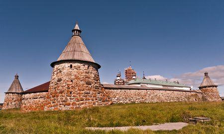 Соловецкий монастырь Карелия