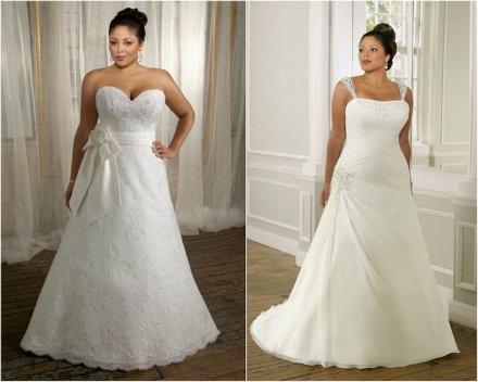 Как выбрать свадебное платье для невесты с пышными формами?