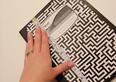 Как сделать текстильную обложку для книги