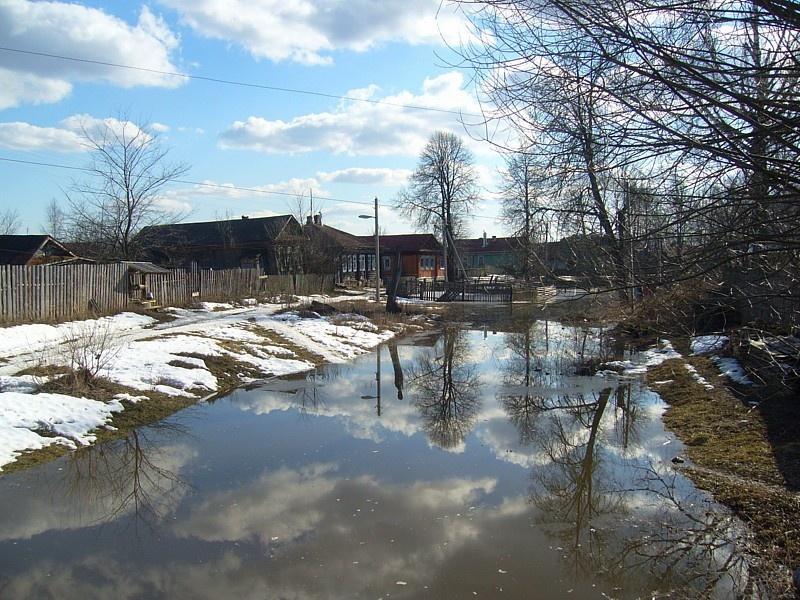 Как определить, сильные ли будут паводки весной