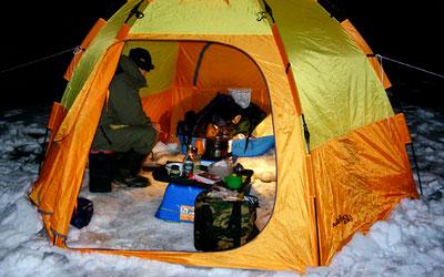 Палатку для зимней рыбалки своими руками видео