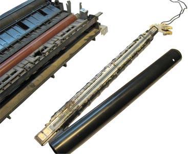 Как заменить термоплёнку в лазерном принтере?