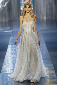 платье из органзы от Нины Риччи