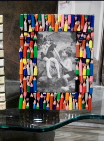 Из карандашей поделки