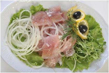Как приготовить рыбную закуску «Сагудай»