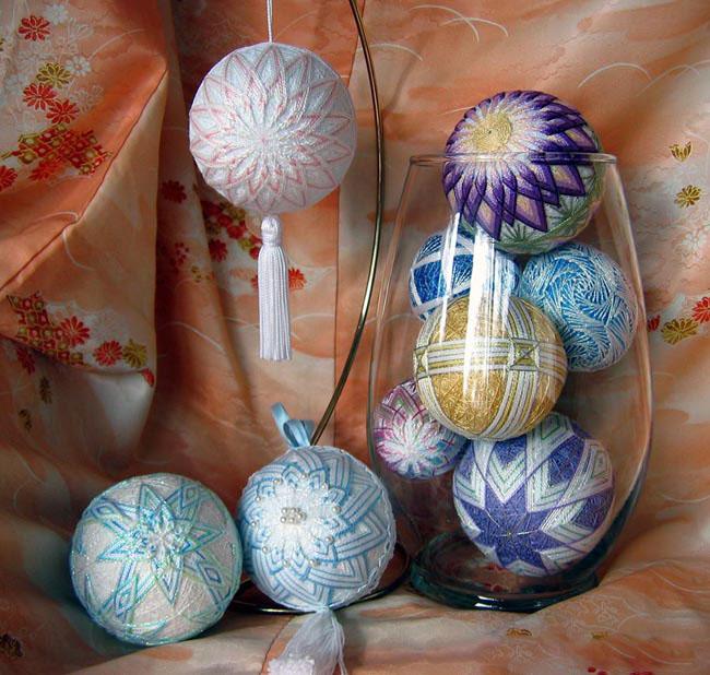 Как создавать японские шары темари. Часть 2.