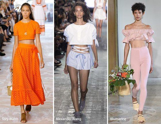 Как составить модный летний гардероб: тренды нового сезона