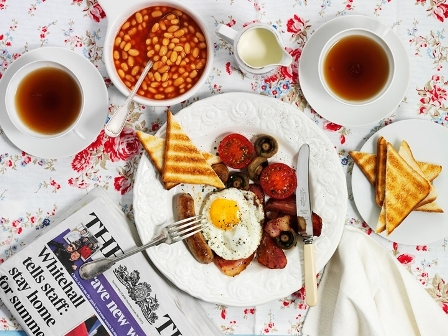 Как приготовить настоящий английский завтрак
