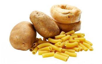продукты из группы углеводы: картофель, макароны, хлеб