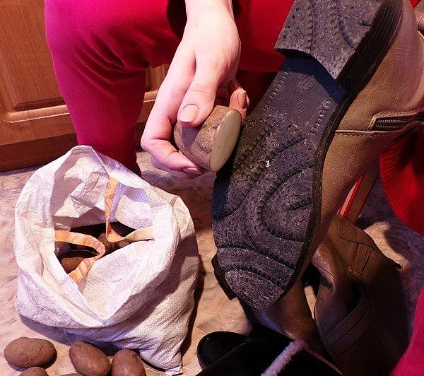 Как сделать, чтобы обувь не скользила в гололед?
