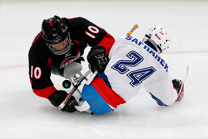 Как действует тафгай. Современный хоккей.