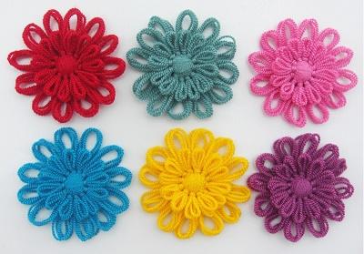 Как пользоваться станочком для изготовления цветков из ниток, пряжи, шнура