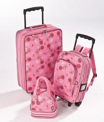 Уникальный чемодан-рюкзак на колесах для девочек.