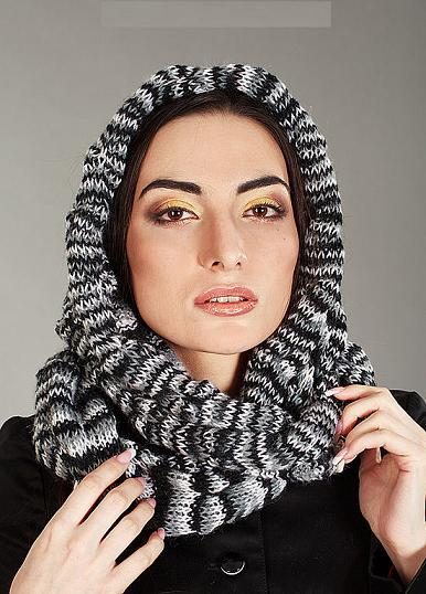 Этот шарф может одевать не