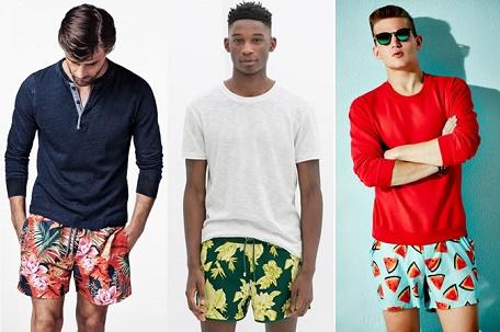 Как выбрать мужские пляжные шорты
