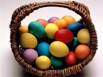Как красить яйца натуральными красителями. Часть 3.