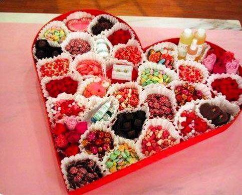 Как сделать самые необычные валентинки из сладостей