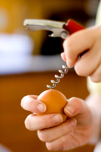 Как приготовить пасхальные кексы в яичной скорлупе