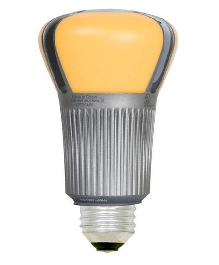 LED-альтернатива стандартным 60-ти ватткам накаливания использует всего лишь 12,5 ватт и живет 25000 часов