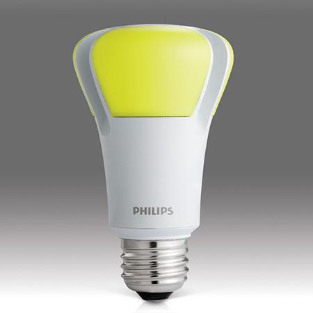 В честь «Дня Земли» (Earth Day; отмечается 22 апреля) 2012-го, Филипс (Philips) выпустили 10-ваттную светодиодную лампочку